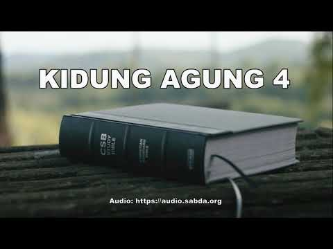 KIDUNG AGUNG 4 - Terjemahan Baru Alkitab Suara