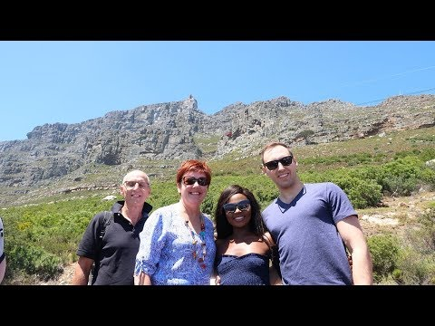 CAPE TOWN VACATION WITH ANDREW'S PARENTS!!!!