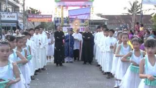 WGPXL - Hạt Phương Lâm : Cung nghinh Thánh Thể 4 giáo xứ