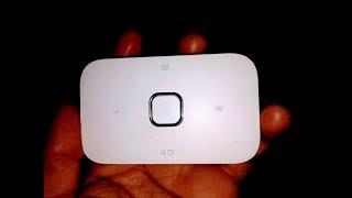 Huawei E5573B wifi router unboxing