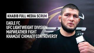 Khabib talks Chimaev callout, EFC big signings and Oliveira's future as UFC lightweight champion