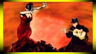 SPANISH GUITAR music animation - Visualization of FLAMENCO ESPAÑOL music