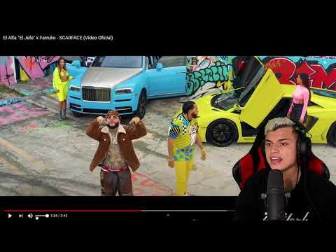 "[Reaccion] El Alfa ""El Jefe"" x Farruko – SCARFACE (Video Oficial) Themaxready"