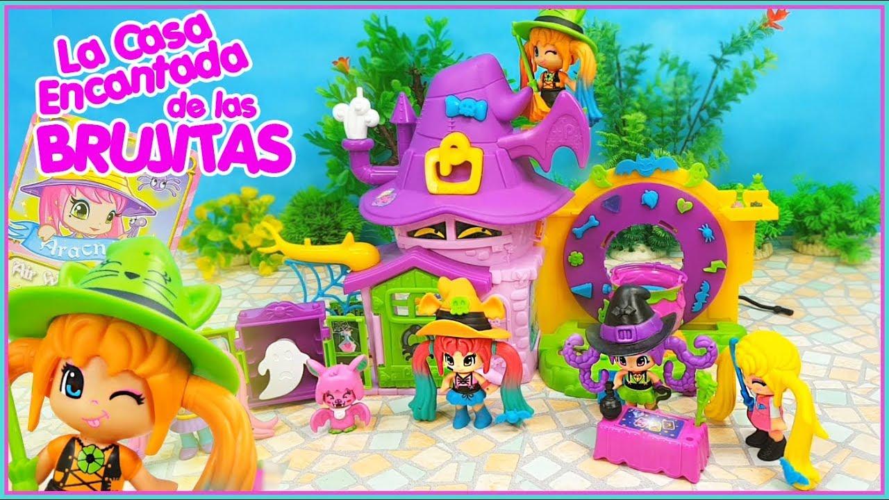 Halia Las Nos Casa Encantada La Enseña Pinypon De Brujitas zMVUpS