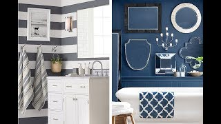 Top 40 Bathroom Art Design Ideas | DIY Small Wall Tiles Floor Decorating Remodel On a Budget 2018