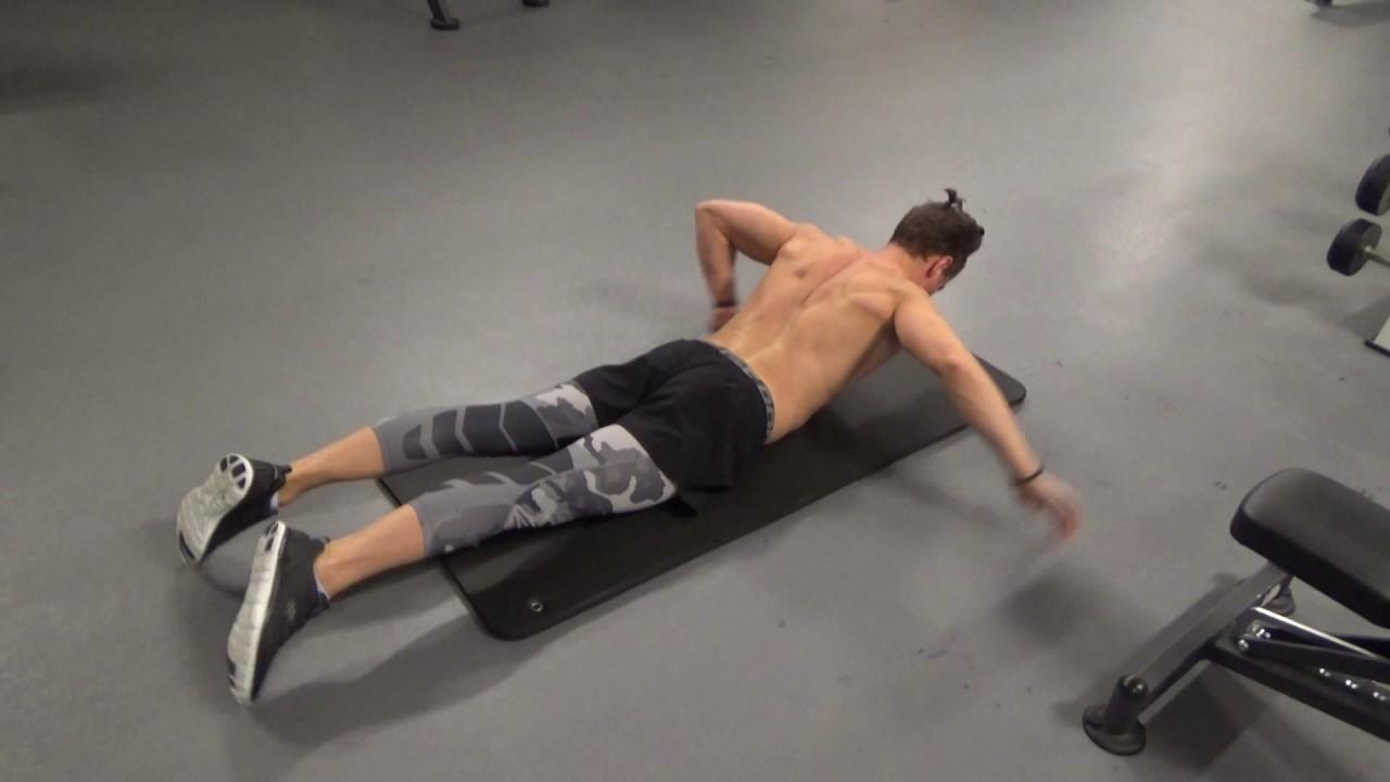 övningar för ryggen hemma