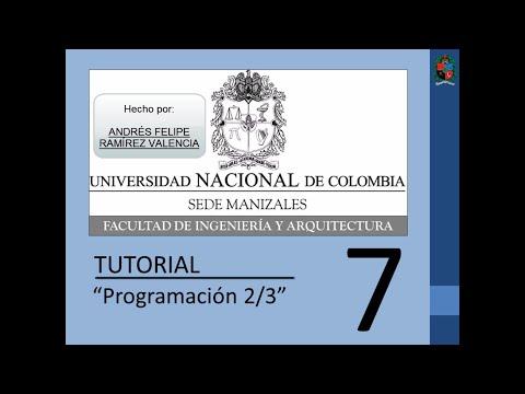 Tutorial 7 de MATLAB en español - Programación 2/3