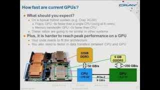 An introduction to GPU hybrid programming on Cray XC30, Hart Alistair (Cray)