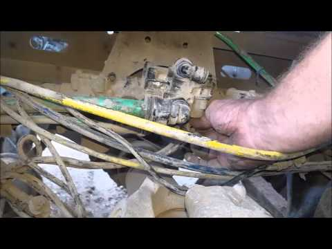 Freightliner abs air brake valve replacement. - YouTube