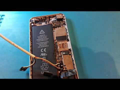 Ремонт IPhone 5, телефон не включался и не заряжался,