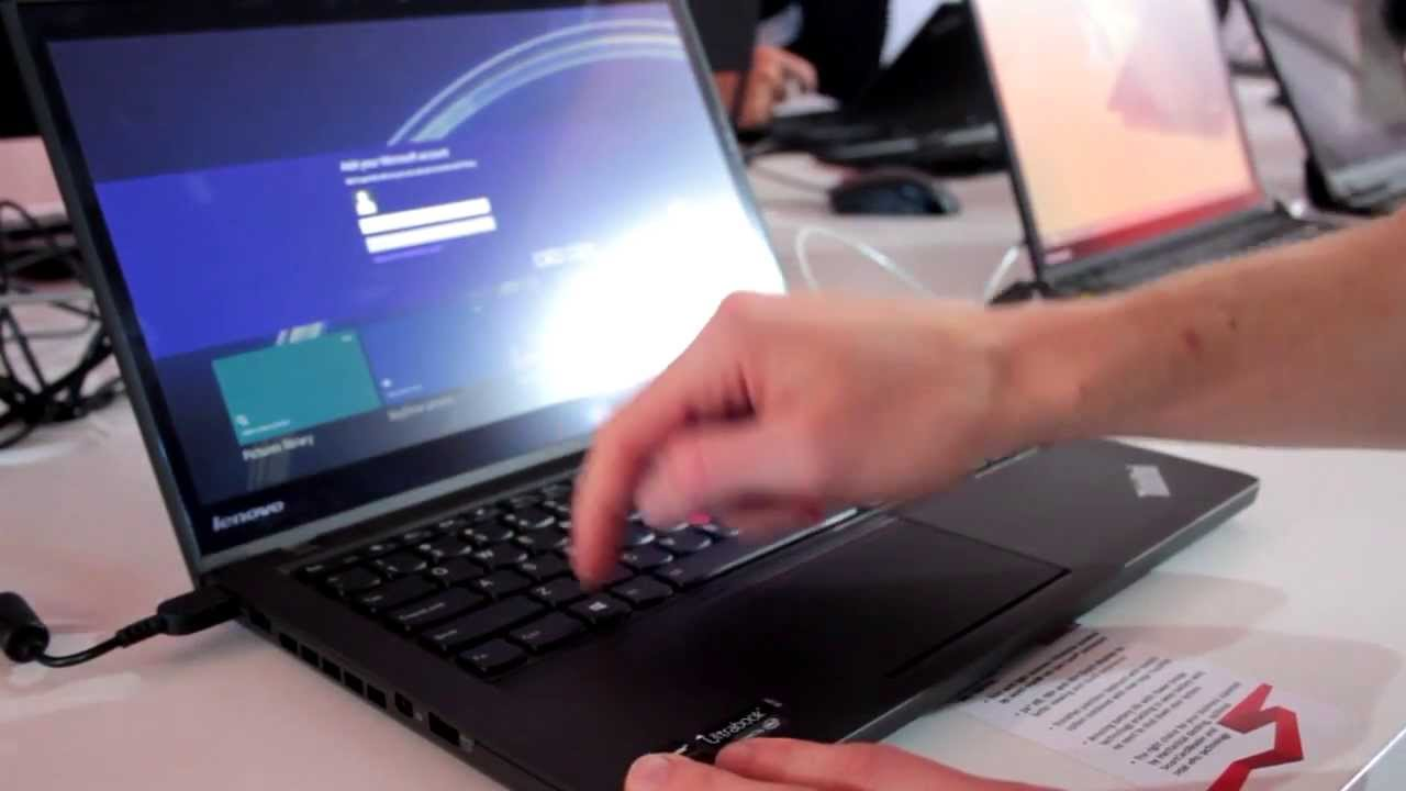 Lenovo Thinkpad T440s (Haswell, FHD-Touch) Ultrabook Hands-On