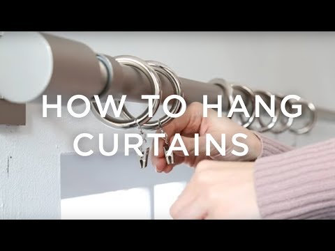 How To Hang Curtains: A Guide From west elm