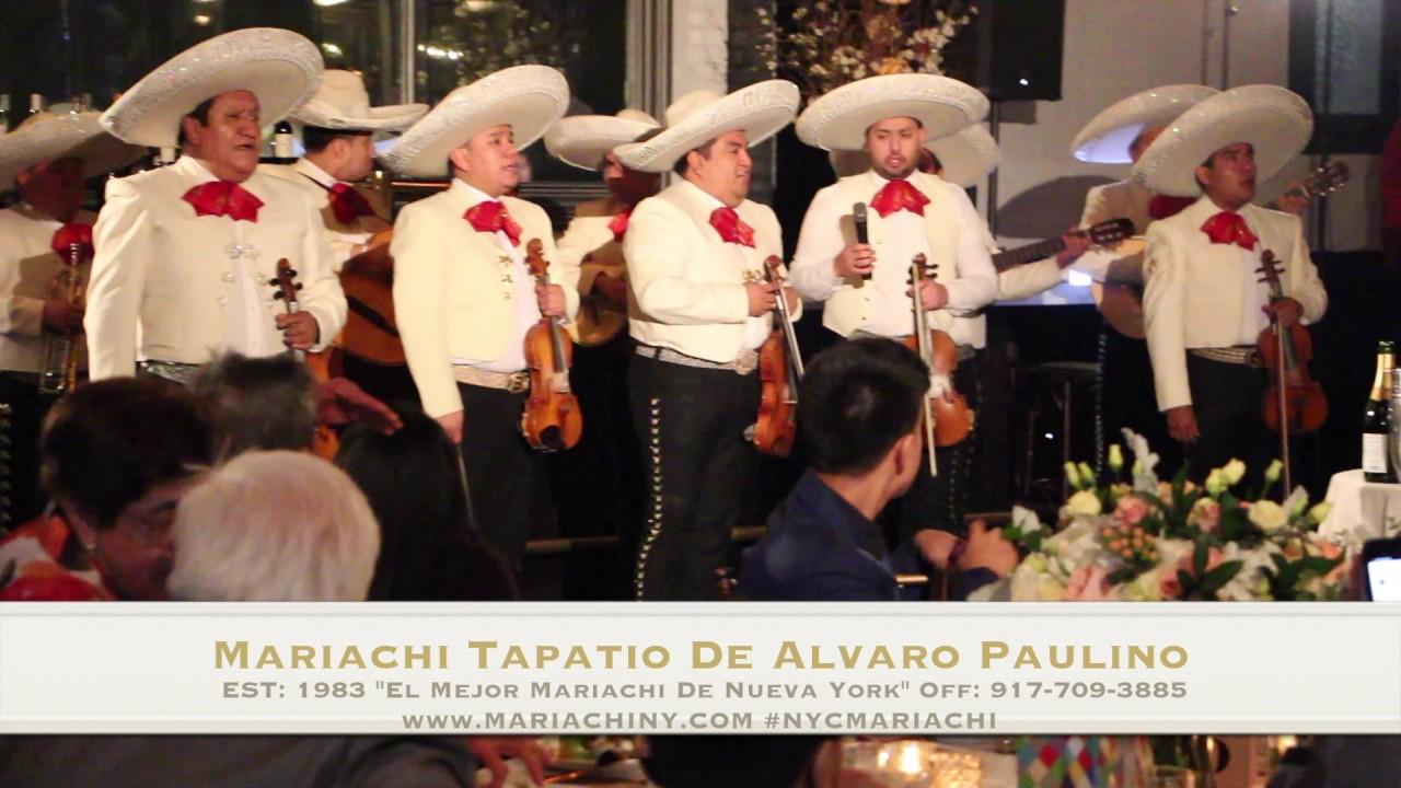 LIVE MUSIC FOR YOUR WEDDINGMariachi Tapatio De Alvaro Paulino 917 709 3885
