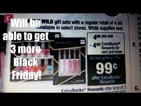 CVS Pharmacy Coupon Haul 11/13/16 - FREE Colgate & 70%+ Savings! from YouTube · Duration:  9 minutes 45 seconds