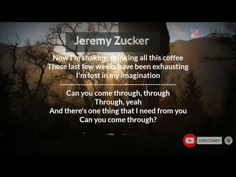 Cover Lagu Jeremy Zucker | I'm Trying To Realise It's Alright To Not Be Fine On Your Own