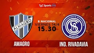 Almagro vs Independiente Rivadavia full match