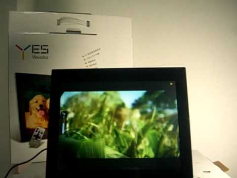 YES VISUAL 15'' LCD DIGITAL PHOTO FRAME MANUFACTURED BY WEISUNG