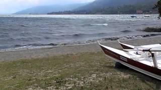 Lago Maggiore in Pattino Meteo in peggioramento FondoToce