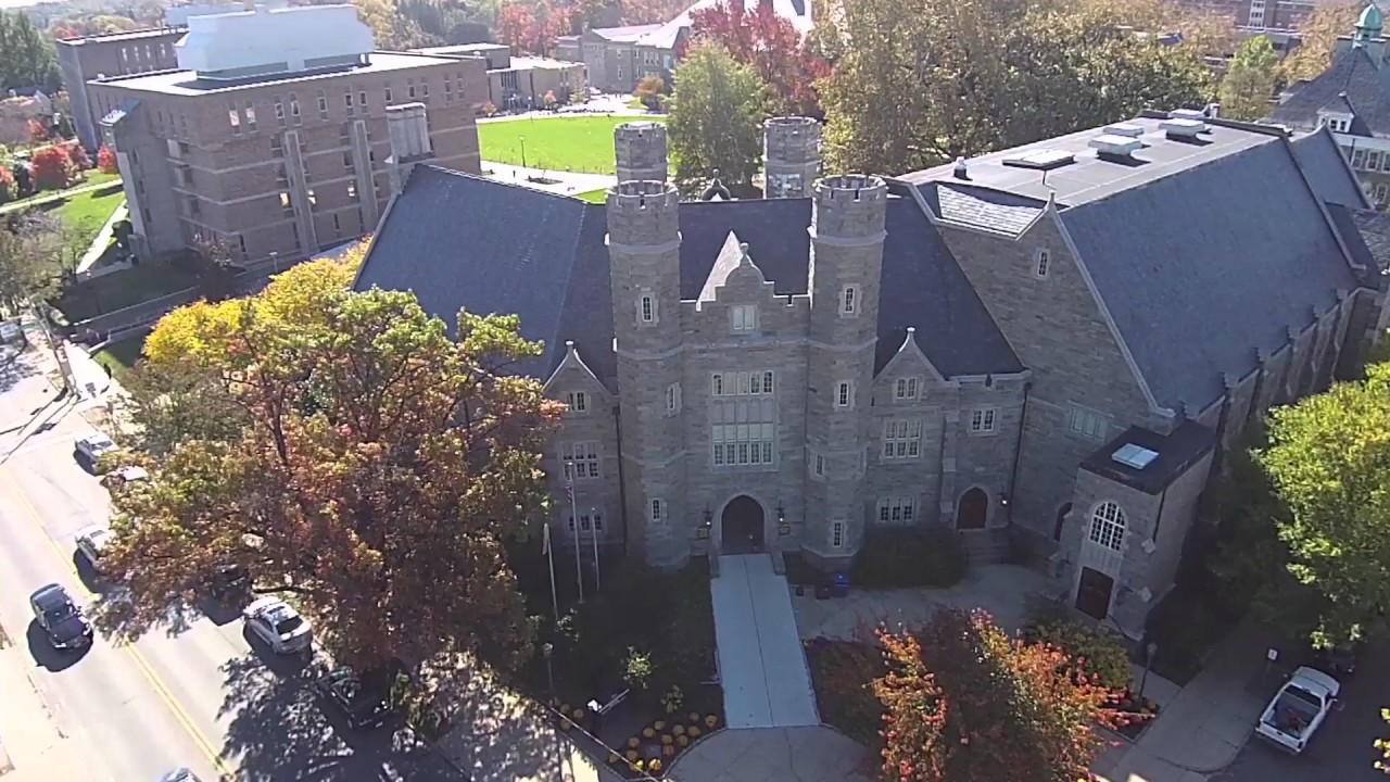 315d3f7bf7f West Chester University view from above - YouTube