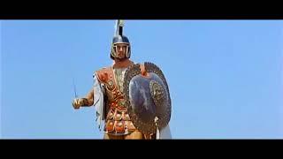 Троянская война (1961). Сражение между греками и троянцами. Гибель Ахилла