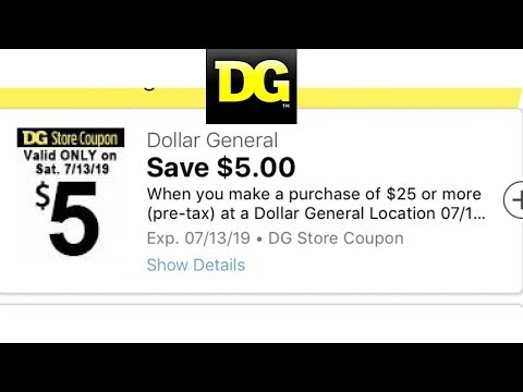 Dollar General *NEW* Digital Coupons :D