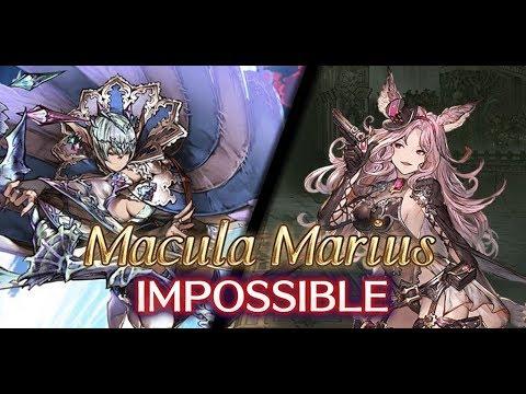 [Granblue Fantasy] Lv120 Macula Marius Impossible Solo (Earth Nekomancer feat. Catherine)
