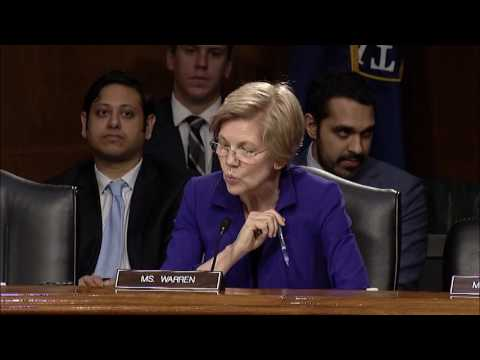 Senator Elizabeth Warren Banking Hearing with Fed Chair Janet Yellen
