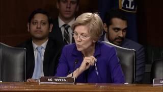 Senator Elizabeth Warren Banking Hearing with Fed Chair Janet Yellen