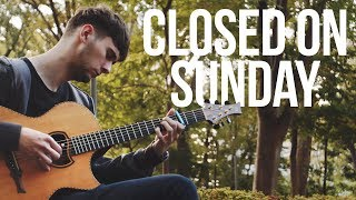 Kanye West - Closed on Sunday - Fingerstyle Guitar Cover