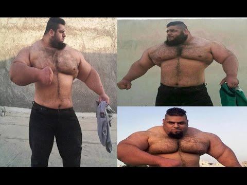 Meet 'Persian Hercules' Sajad Gharibi ,24-Year-Old Power Lifter Hulk From IRAN