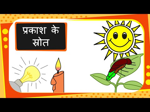 Science - Sources of light - Basic - Hindi