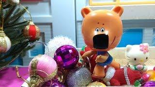 Ми-Ми-Мишки Наряжают Елку / Играем в Игрушки / Детское Видео для Малышей / Супер Игрушки ТВ