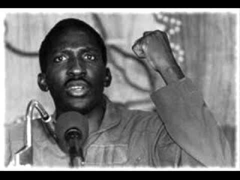 Le idee non si possono uccidere - Thomas Sankara