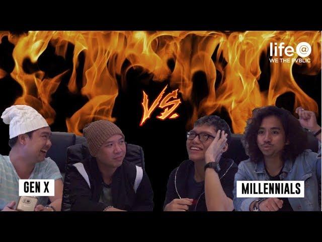 Gen X vs. Millennials