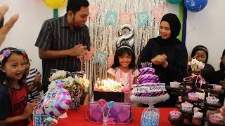 Video Selamat Ulang Tahun Charma ke 8 ♥ Happy Birthday Party Surprise 8th Birthday cake potong kue download MP3, 3GP, MP4, WEBM, AVI, FLV September 2018