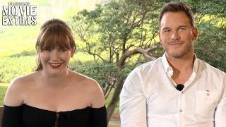 JURASSIC WORLD: FALLEN KINGDOM | Bryce Dallas Howard & Chris Pratt talk about the movie