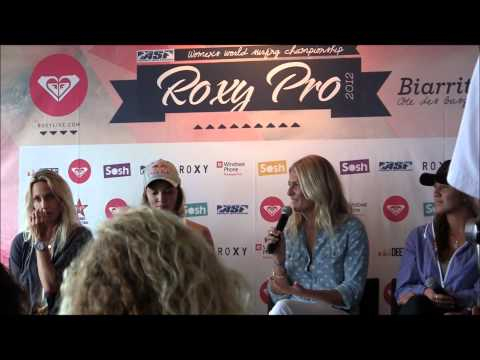 Roxy Pro Biarritz - Press Conference