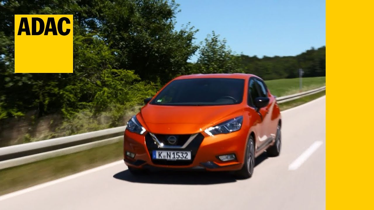 adac autotest nissan micra 0.9 ig-t i adac 2017 - youtube