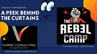 A Peek Behind The Curtains - The Rebel Camp with Oshim Phoenix