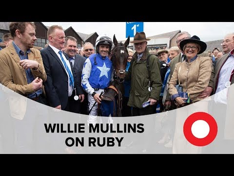 Willie Mullins reacts to Ruby Walsh's retirement