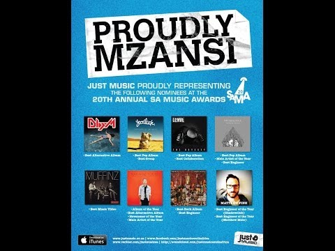 Just Music - 20th Annual SA Music Awards Nominees (2014 OFFICIAL Music Video)