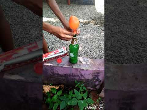 How to make Hydrogen Balloon in malayalam