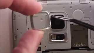 Substituição Protetor Vidro Lente Câmera Samsung Galaxy S5