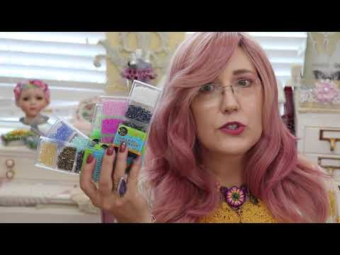Dollar Store Bead Embroidery A Inexpensive Way To  See If It's Your Craft ?