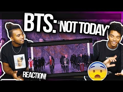 BTS (방탄소년단) 'Not Today' Official MUSIC VIDEO REACTION MUST WATCH!!