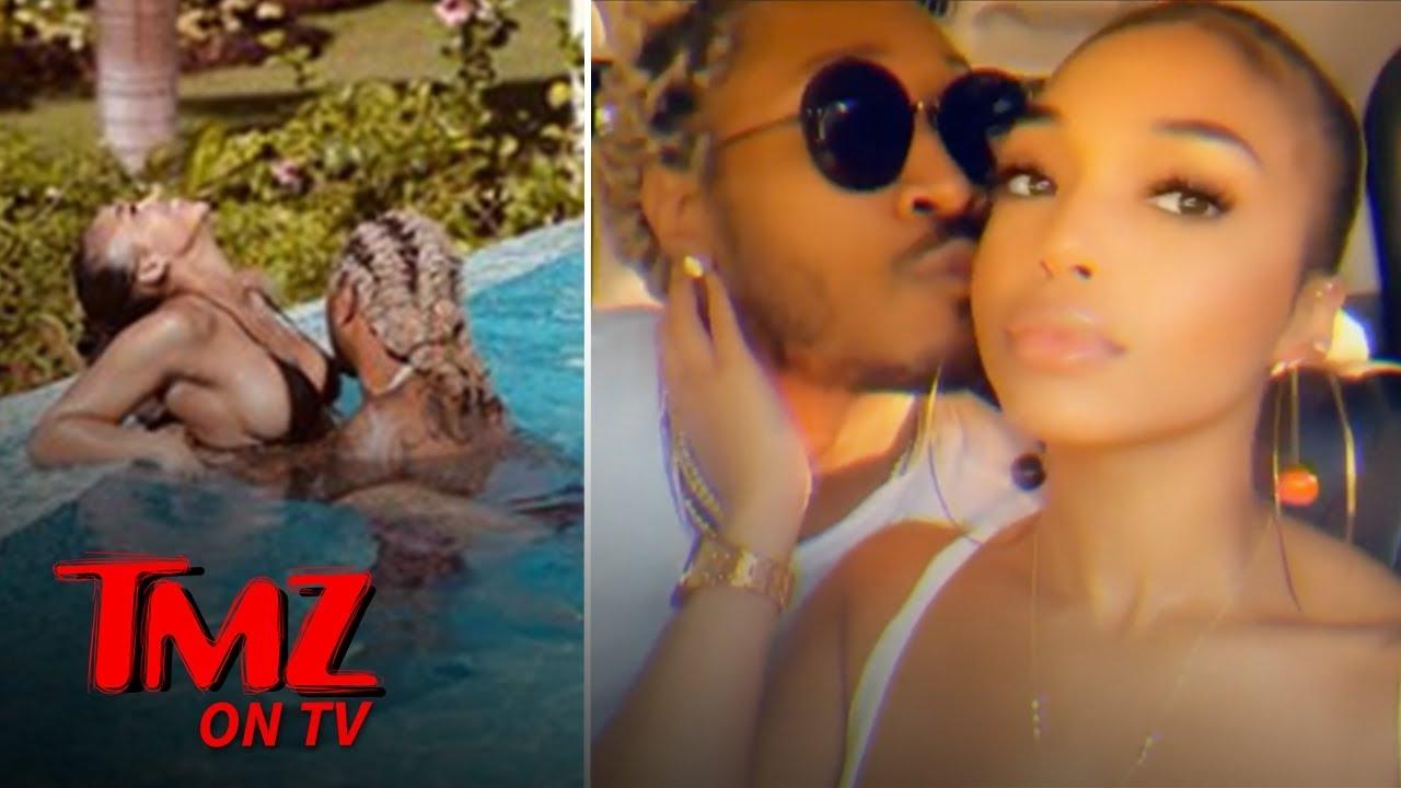 Future Posts Hot PDA Pool Pic with Lori Harvey, Definitely Dating | TMZ TV