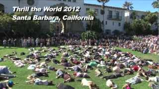 Thrill the World 2012 Santa Barbara, California