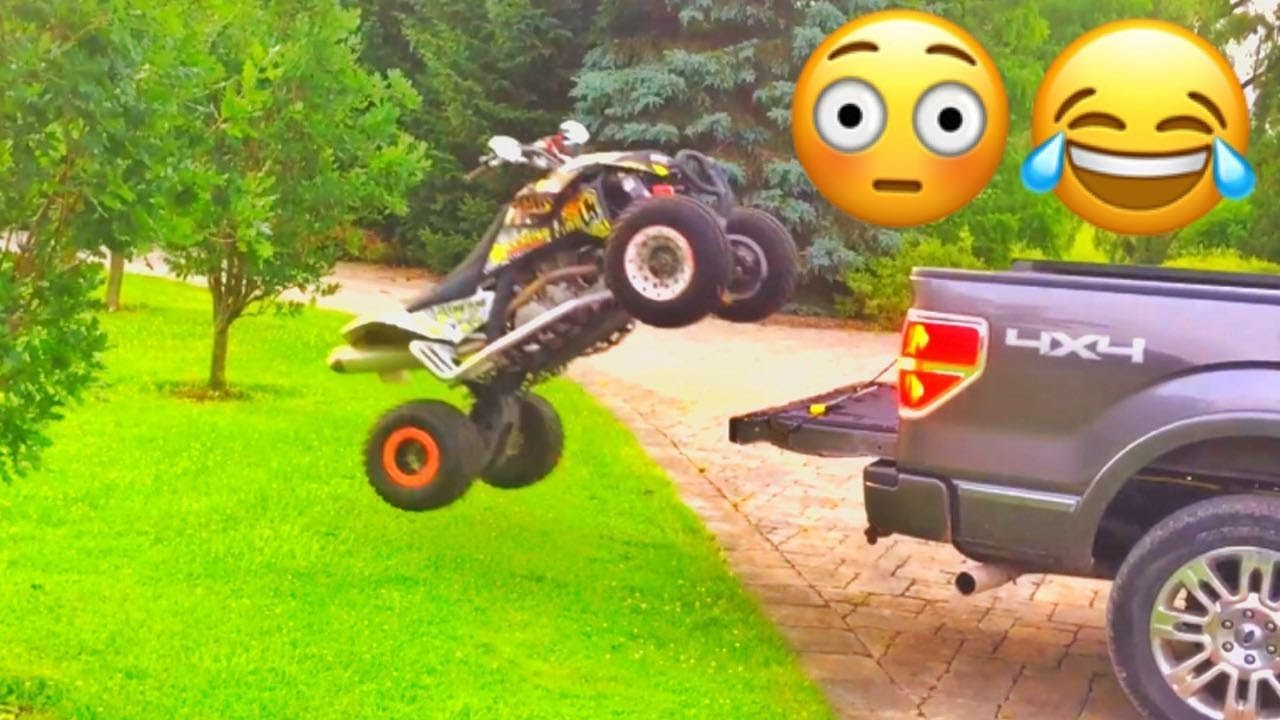 Atv Truck Ramps >> How To Load A Quad Or Atv Into Your Truck Bed Without Ramps