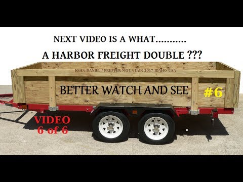 Diy utility trailer build harbor freight trailer kit vid intro see diy utility trailer build harbor freight trailer kit vid intro see below 6 solutioingenieria Image collections