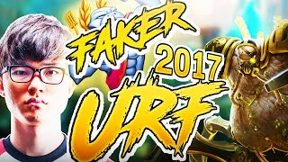 Faker plays URGOT IN URF 2017 - URF 2017 FAKER - Urgot - League of Legends